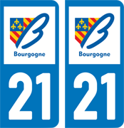 sticker 21 - Côte d'Or