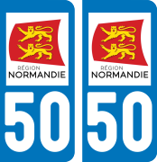 sticker 50 - Manche
