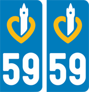 sticker 59 - Nord